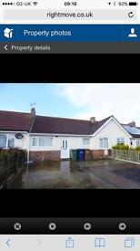 Fabulous 2 bedroom bungalow hetton Le hole £495pm