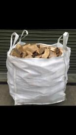 Dry logs for sale (1/2 tonne)