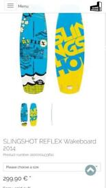 Slingshot flex Wakeboard Bindings and Boots