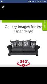 2 seater scs piper settee