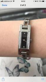 Gucci ladies watch with diamond face