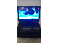 Portable DVD CD Player Swivel Lcd Screen 9""