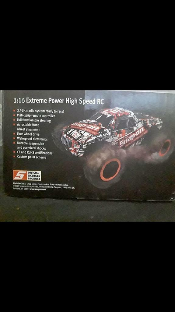 Snap on extreme power high speed rc car | in East End, Glasgow | Gumtree