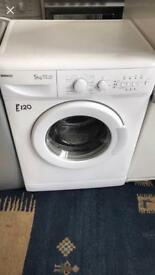 Beko Washing Machine, FREE PLYMOUTH DELIVERY, FREE CONNECTION, FREE DISPOSAL, 3 MONTH GUARANTEE