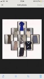 Joblot Womens Summer Dress Top Skirt Newlook Apricot Zara Jane Norman Next 10 12 (10 items)