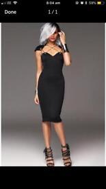 Aleisha Dixon little black dress