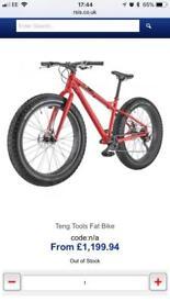 Tengtools fat bike.
