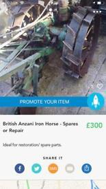 Anzani Iron Horse Tractor