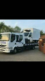 Car van recovery 24hr Nottinghamshire Derbyshire Leicestershire
