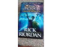 Percy Jackson and The Greek Heroes by Rick Riordan HARDBACK