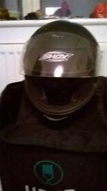 "Nearly BRAND NEW ""Shox"" Crash Helmet"