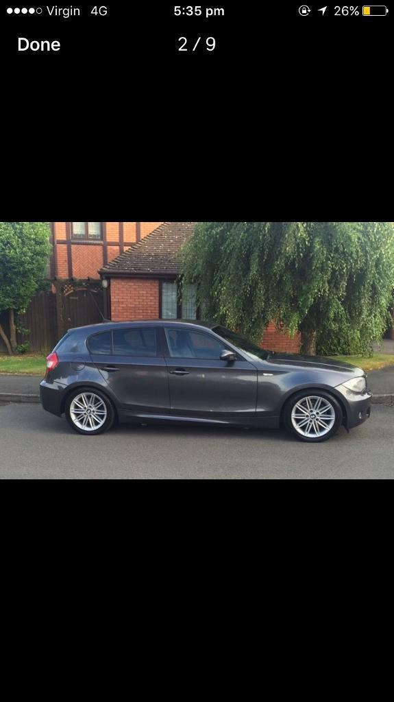 **BMW MSPORT 1 SERIES. 118d. 5dr** PRICE REDUCED FOR QUICK SALE.