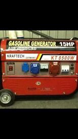 Generator 15 hp 8500 w