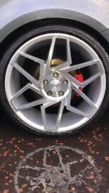 "Alloy wheels, 5x112 19"" Veemann VFS 27R's"