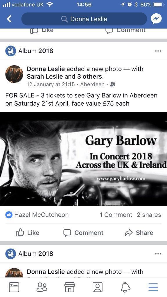 sell concert tickets ireland