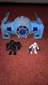 Playskool Heroes Star Wars Heroes Tie Fighter & Darth Vader