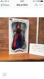 Limited edition Disney dolls PLEASE READ