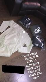 GK tracksuit Gym King
