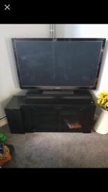 Panasonic Viera TX-P42GT30 plasma 3D TV, soundbar and sub woofer