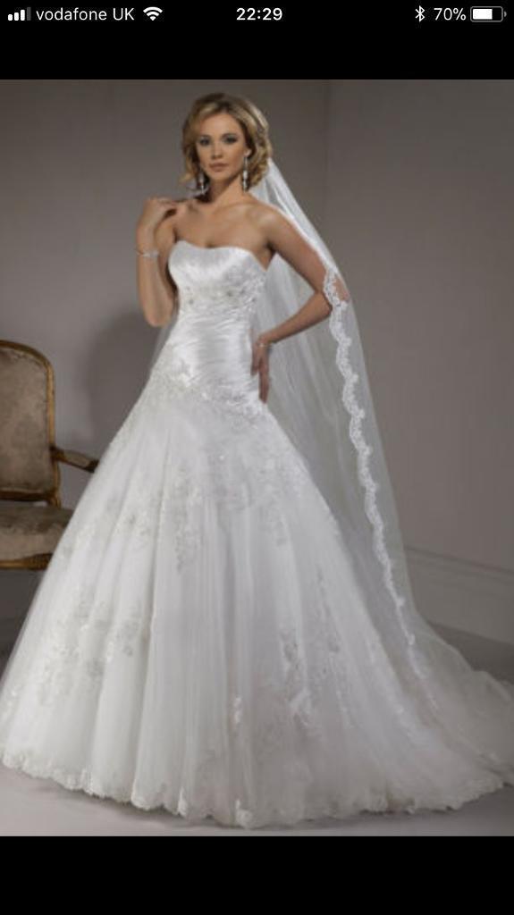 Wedding dress Maggie Sottero | in Drumchapel, Glasgow | Gumtree