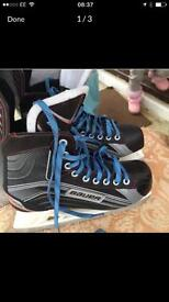 Bauer ice skates in excellent condition