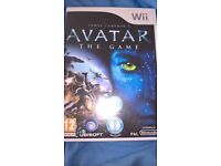 Avatar the game. wii game