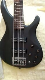 Yamaha TRBX505 5 strings Bass Guitar in Translucent Black