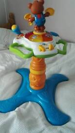 Vtech ride on giraffe and sit-to-stand musical dancing tower