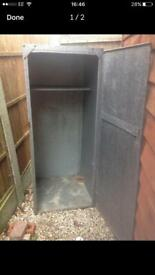 Metal cupboard £20