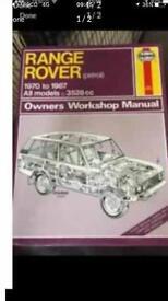 Haynes rangerover manual