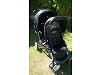 Double Buggy in black by Graco