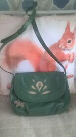 Radley Green leather bag