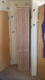 single wardrobe,dressing table with mirror and stool