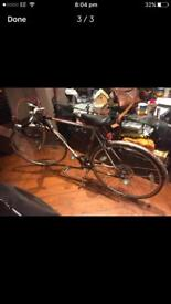 Raleigh winner retro racing road bike