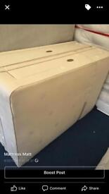 King size divan base with drawers only £125ono