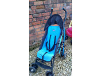 CHICCO ECHO PUSHCHAIR STROLLER BUGGY & RAINCOVER