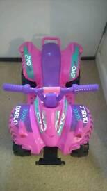 Electric quad ride on