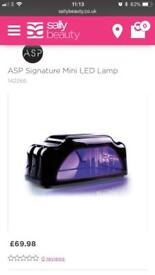 Asp led lamp for gel nails