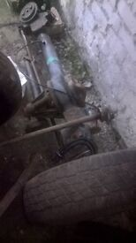 Land Rover Discovery axles