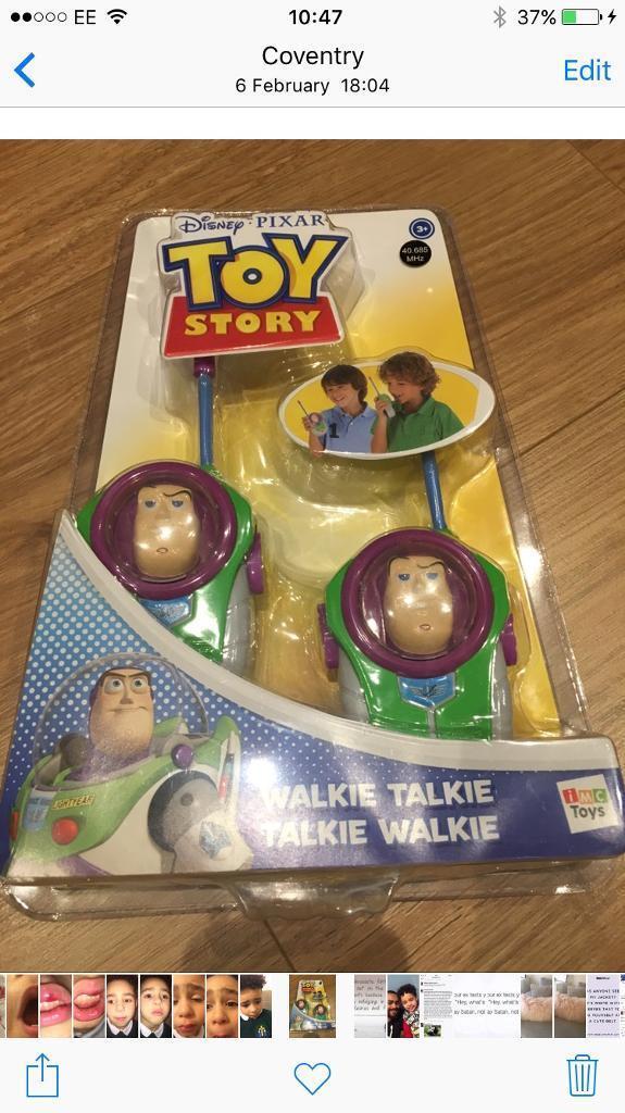Toy Story Walkie Talkie set (New/Unopened)