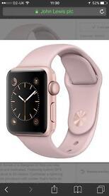 Apple Watch 42mm rose gold