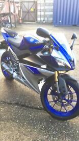 Yzf-r125 Yamaha 2016 akrapovic exhaust