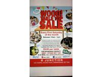 Regular table top sales 7th July 10-1pm