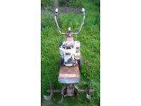 Mountfield 4hp rotavator once started runs well