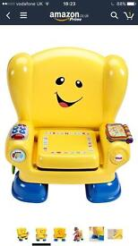 Fisher price smart stages chair in yellow