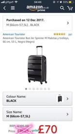 AmericanTourister Suitcase Used Once 66cm-57
