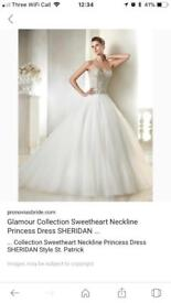 Stunning St Patrick by Pronovias designer wedding dress