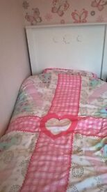 wardrobe,bed,drawers,bedside & bookcase for sale