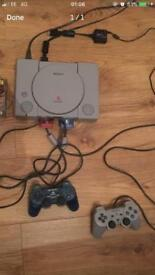 ***RETRO PS1 CONSOLE PACKAGE. 2 YEAR WARRANTY***