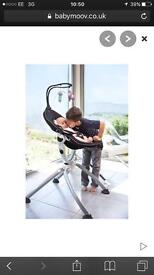 Brand new babymoov up swoon high chair black grey (still in box)+ carry bag available